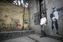 Visit of Buenos Aires, Argentina: Takuma Sato