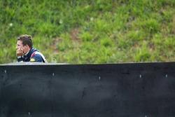 Christian Klien after his crash