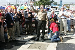 Rusty Wallace Court of Legends induction: Rusty Wallace celebrates his induction