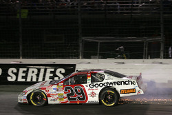Kevin Harvick in the wall