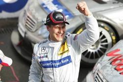DTM 2005 champion Gary Paffett celebrates