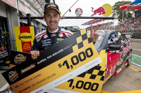 Polesitter Jamie Whincup, Red Bull Holden celebrates