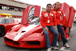 Luca Badoer and Marc Gene
