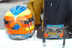 Timo Glock's HANS device advertises new nickname from team