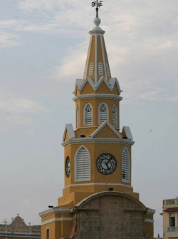 Visit of the city of Cartagena
