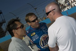 Rusty Wallace and Paul Tracy