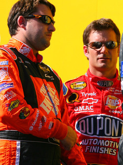 NASCAR-CUP: Tony Stewart and Jeff Gordon