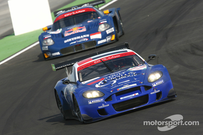 #17 Russian Age Racing Aston Martin DBR9: Stéphane Ortelli, Christophe Bouchut