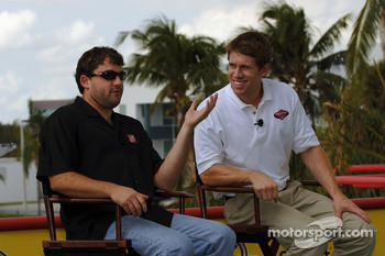 Miami press conference: Tony Stewart and Carl Edwards