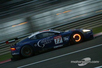 #17 Russian Age Racing Aston Martin DBR9: Antonio Garcia, Christophe Bouchut