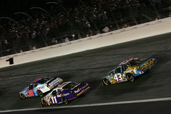 David Stremme, Denny Hamlin and Jeff Green