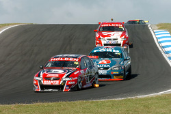 Garth Tander on his way to 2nd place