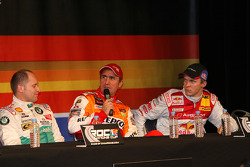 Press conference: Armin Schwarz, Stéphane Peterhansel and Mattias Ekström