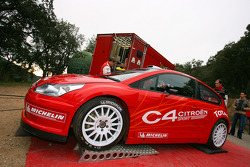 The new Citroën C4 WRC 2007