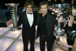 FIA Formula One World Champion Fernando Alonso and FIA World Rally Champion Sébastien Loeb