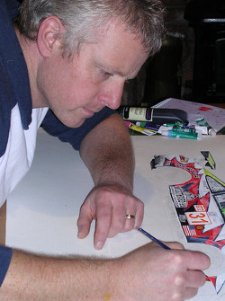 Paul Holroyd at work
