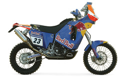 The Red Bull KTM USA of Andy Grider