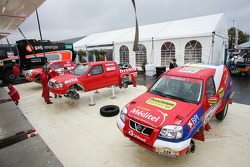 Team Nissan Dessoude presentation: the Nissan X-Trail T1 of Miguel Barbosa and Miguel Ramalho