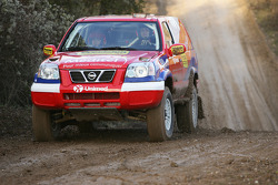 Team Nissan Dessoude: Miguel Barbosa and Miguel Ramalho test the Nissan X-Trail T1