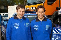 Team Gauloises Schlesser: Arnaud Debron and Thierry Magnaldi