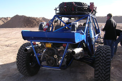 Vanguard Racing: Las Vegas pre-run buggy in the staging area