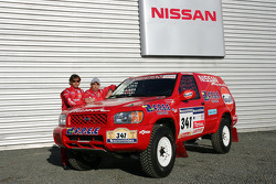 Team Nissan Dessoude public presentation: Paul Belmondo and Bernard Irissou