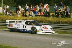 #41 WM Peugeot WM P83B Peugeot: Pascal Pessiot, Dominique Fornage, Panic
