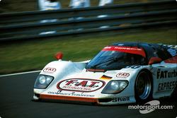 #36 Dauer 962 LM GT: Mauro Baldi,Yannick Dalmas, Hurley Haywood