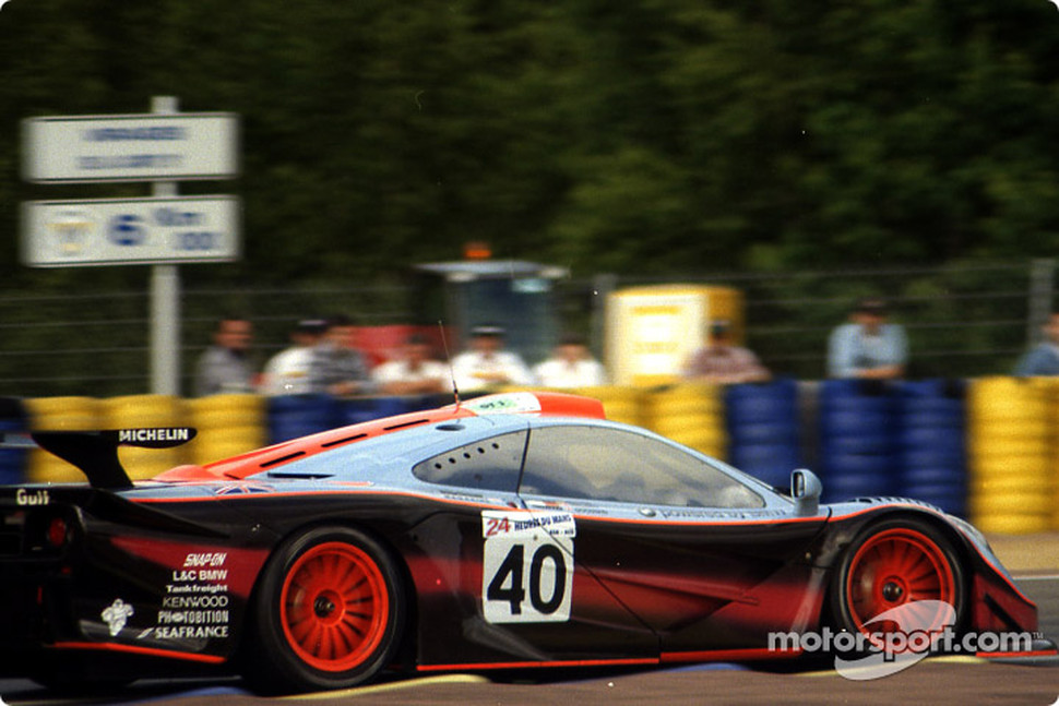 #40 Gulf Team Davidoff McLaren F1 GTR BMW: Thomas Bscher, John Nielsen, Chris Goodwin