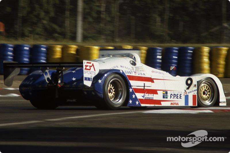 #9 Courage Compétition Courage C36 Porsche: Mario Andretti, Michael Andretti, Olivier Grouillard