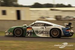 #28 Kranz Konrad Motorsport Porsche 911 GT1: Mauro Baldi, Robert Nearn, Franz Konrad