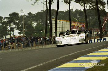 #7 Joest Racing TWR Porsche WSC 95: Michele Alboreto, Stefan Johansson, Tom Kristensen