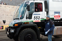 The Kwikpower Mercedes-Benz truck of Udo Kuhn, Markus Reiter and Michael Zerwer