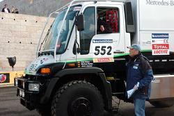 The Kwikpower Mercedes-Benz truck of Udo Kuhn, Markus Reiter and Michael Zerwer