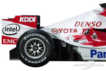 Detail of the Toyota TF106
