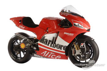 The new Ducati Desmosedici GP6