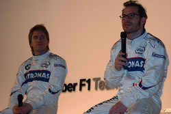 Nick Heidfeld and Jacques Villeneuve