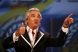 Flavio Briatore on stage