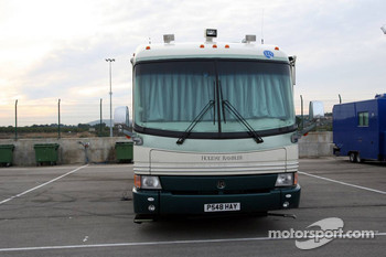 Motorhome of Jacques Villeneuve