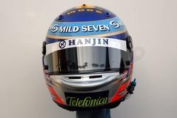 Helmet of Heikki Kovalainen