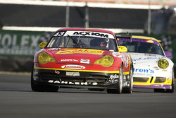 #43 Team Sahlen Porsche GT3 Cup: Wes Allen, Eddie Hennessy, Jim Michaelian, Manuel Matos, Wayne Nonnamaker