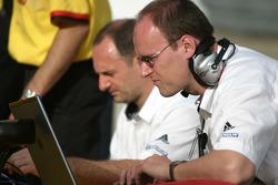 Penske Racing team members at work