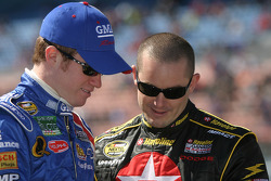 Brian Vickers and Casey Mears