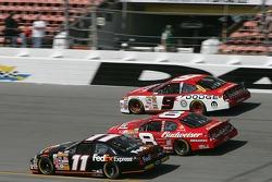 Kasey Kahne, Dale Earnhardt Jr. and Denny Hamlin