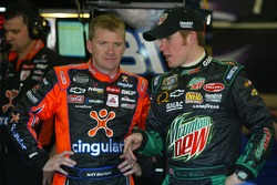 Jeff Burton and Brian Vickers