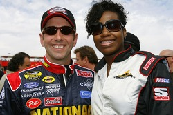 Greg Biffle and Fantasia