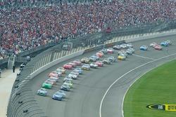 The race is underway!