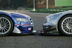 The Audi A4 DTM vs the AMG-Mercedes C-Klasse