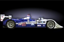 The new Dyson Racing Lola B06/10 AER V8 LMP1 prototype