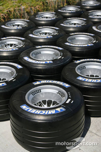 Michelin dry weather tires